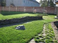 Подпорная стенка из натурального камня